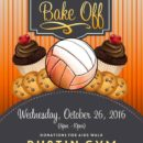 Bake off on October 26, 2016 at Rustin Gym